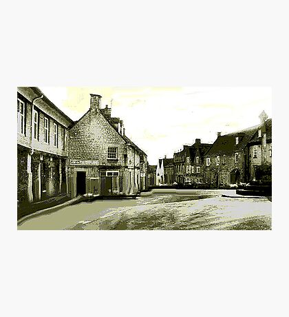 Minchinhampton Market Photographic Print