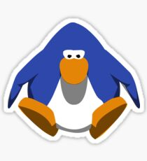 sit penguin  Sticker
