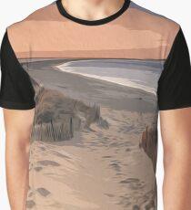Coastal Paradise Graphic T-Shirt