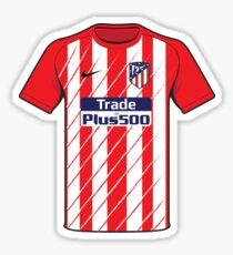Atletico Madrid shirt Sticker