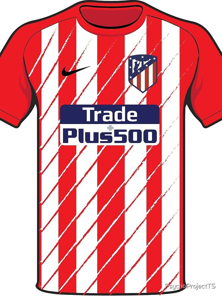Camiseta del Atlético de Madrid de PsychoProjectTS