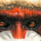 Mandrill of Africa by BarbBarcikKeith