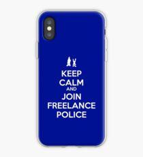 Keep Calm - Freelance Police iPhone Case