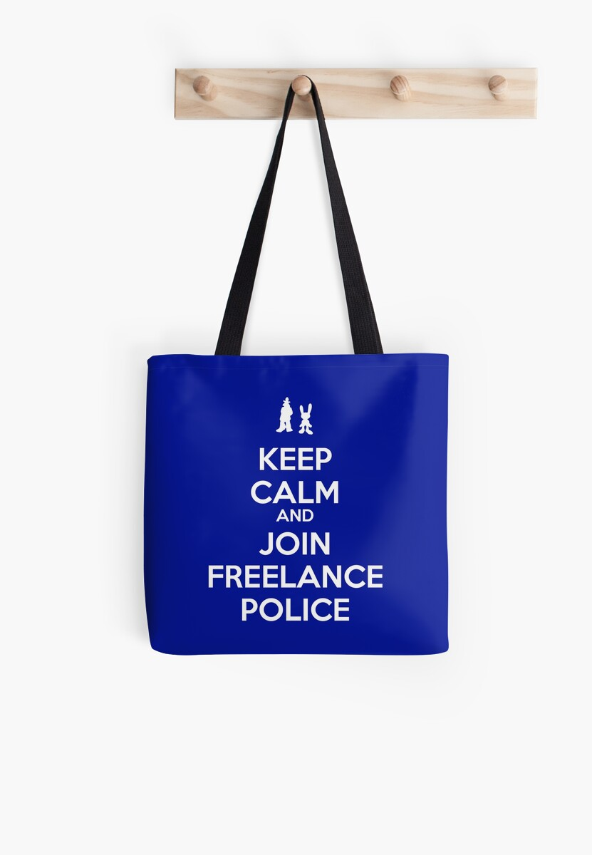 Keep Calm - Freelance Police by spegnilcomputer