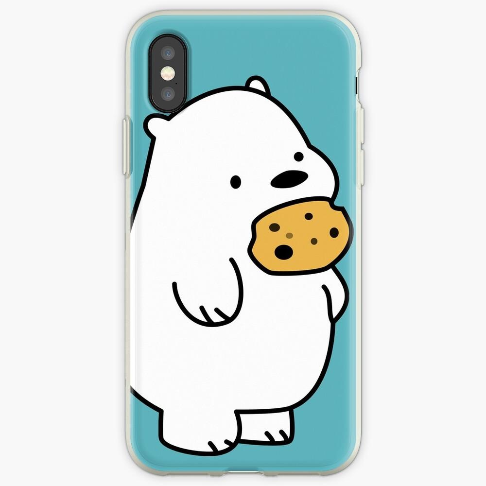 Ice Bear-Plätzchen iPhone-Hülle & Cover