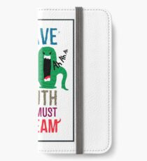 I have no mouth and I must scream iPhone Wallet/Case/Skin