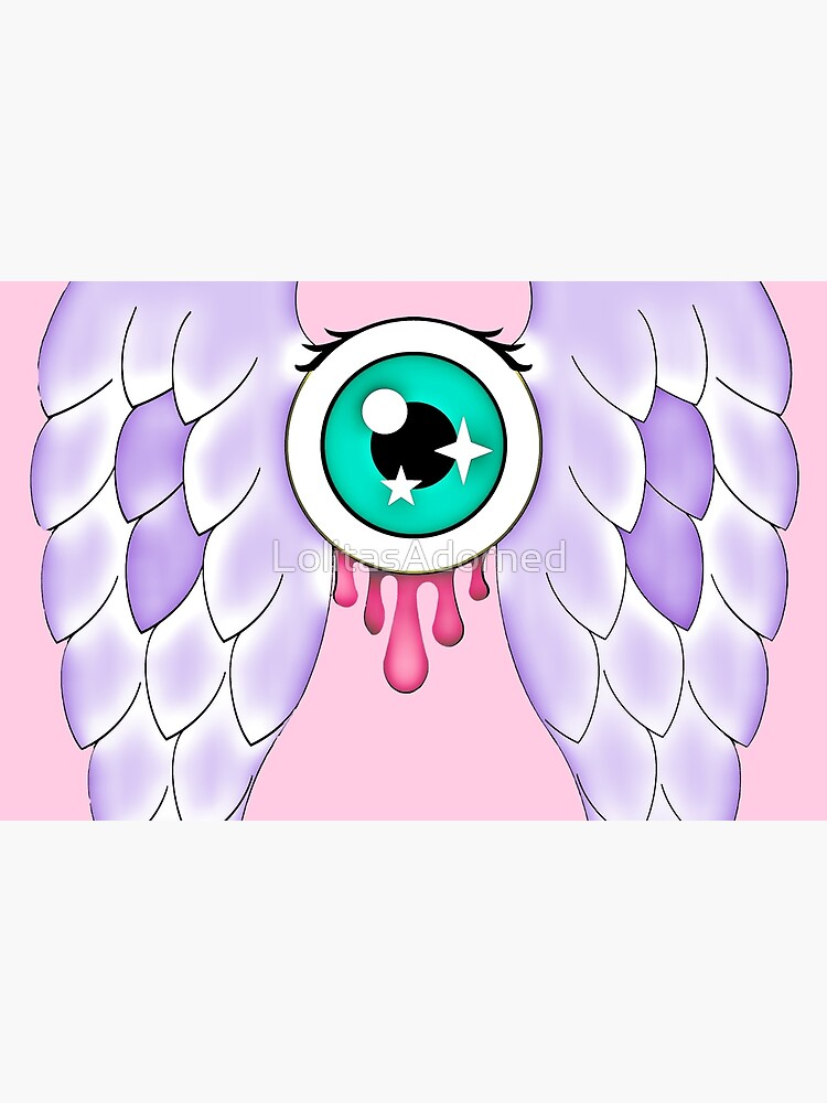 Pastel Goth | Winged Eye | Pink by LolitasAdorned