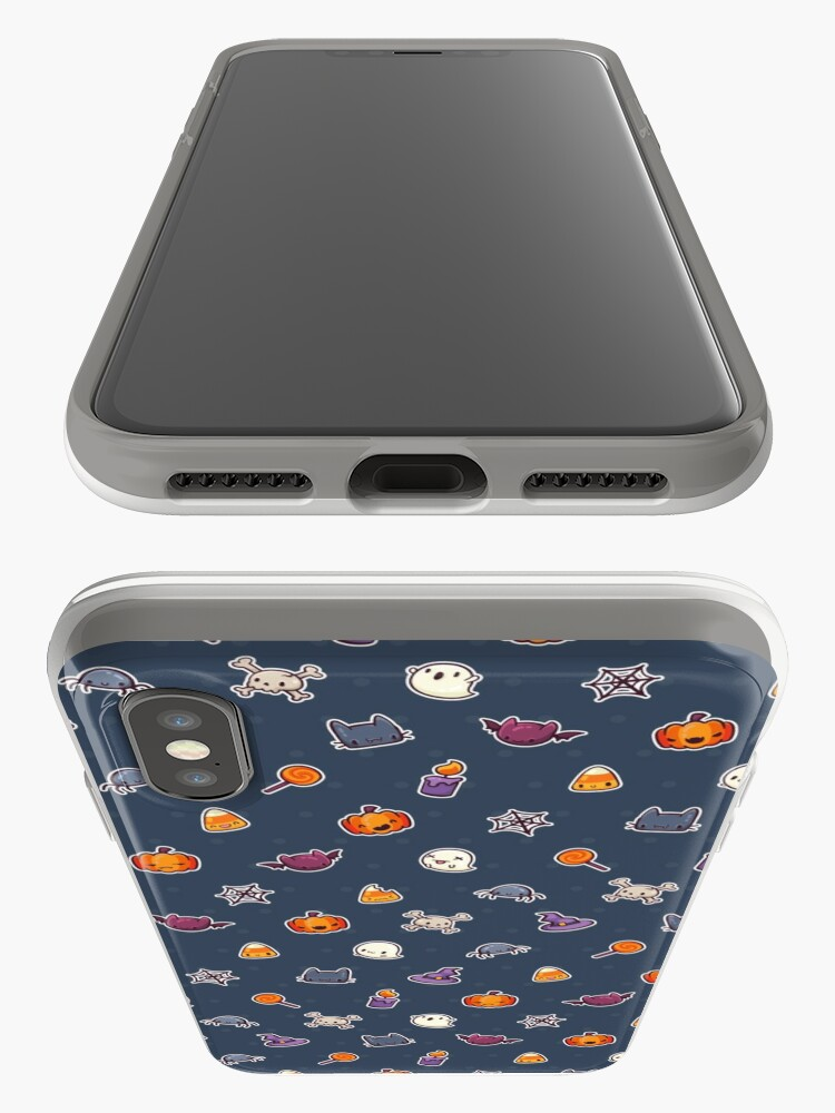 Alternate view of Kawaii Halloween (Pattern) iPhone Case & Cover