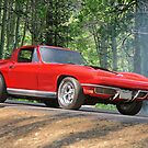 1964 Corvette Stingray Coupe 3 by DaveKoontz