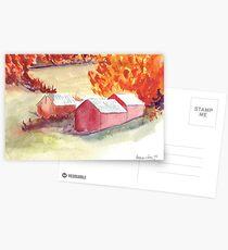 Farm in Autumn  Postcards