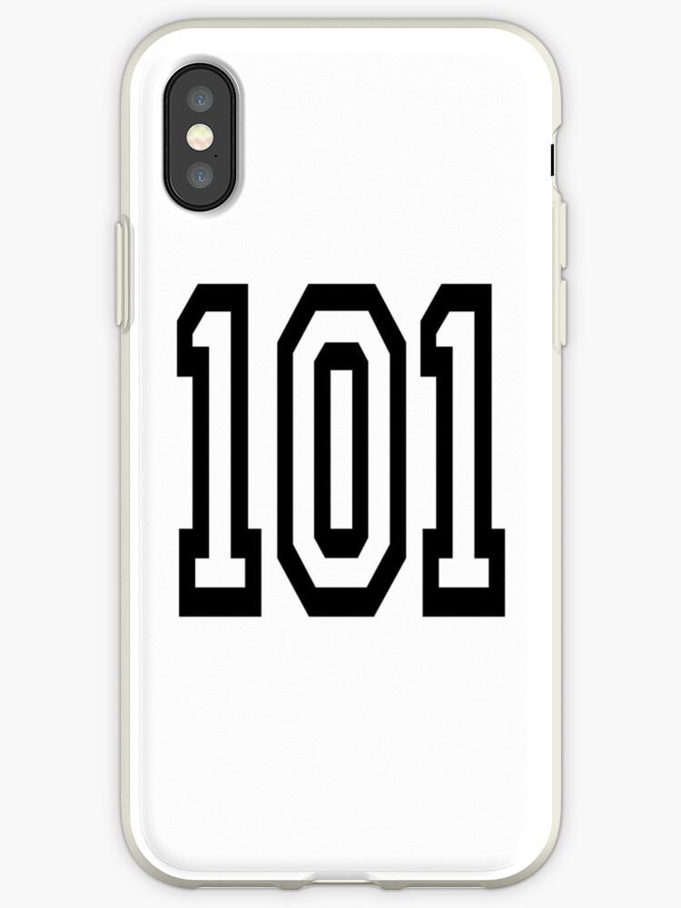 best website e493c 15637 '101, TEAM SPORTS, NUMBER 101, one o one, Competition' iPhone Case by TOM  HILL - Designer