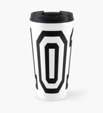101, TEAM SPORTS, NUMBER 101, one o one, Competition Travel Mug