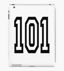 101, TEAM SPORTS, NUMBER 101, one o one, Competition iPad Case/Skin