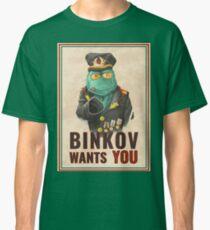 Binkov wants YOU! Classic T-Shirt