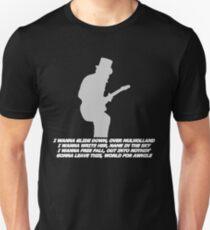 Verlasse diese Welt für eine Weile Slim Fit T-Shirt
