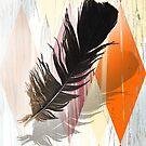 black feather harlequin by veerapfaffli
