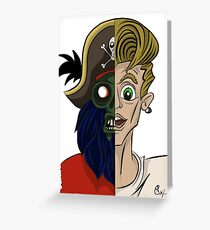 You can't choose your family. Monkey Island Greeting Card