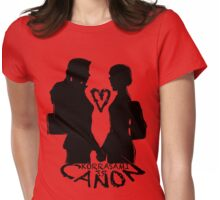 KORRASAMI IS CANON v1 Womens Fitted T-Shirt