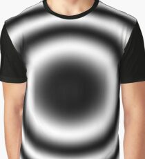 Trippy BW Abstract  Graphic T-Shirt