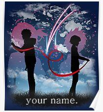 Dein Name Poster