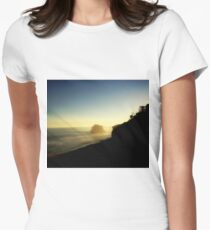 Tranquil  Women's Fitted T-Shirt