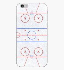 Ice Hockey Rink iPhone Case