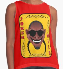 The Lucky Contestant TV Joker Is Wild Player Card Contrast Tank