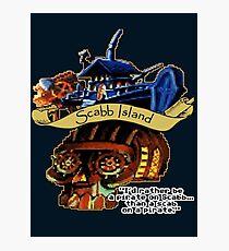 Visit Scabb Island Photographic Print
