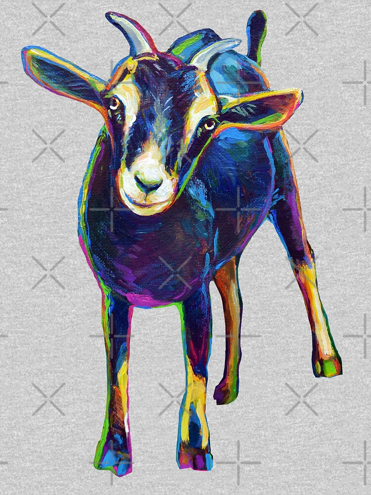 Gertie the Goat, Star of the Show by RobertPhelpsArt