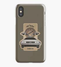 DMC Hill Valley iPhone Case/Skin