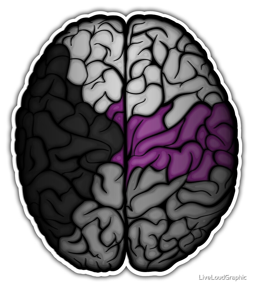 Demisexual Brain by LiveLoudGraphic