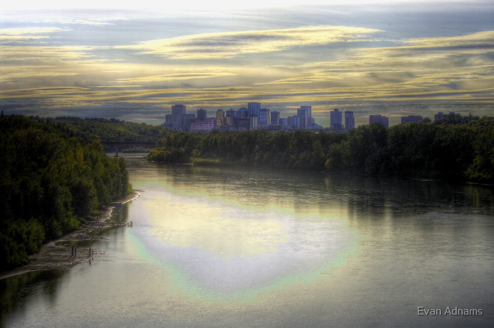 Edmonton in Fall (HDR) by Evan Adnams