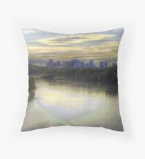 Edmonton in Fall (HDR) Throw Pillow
