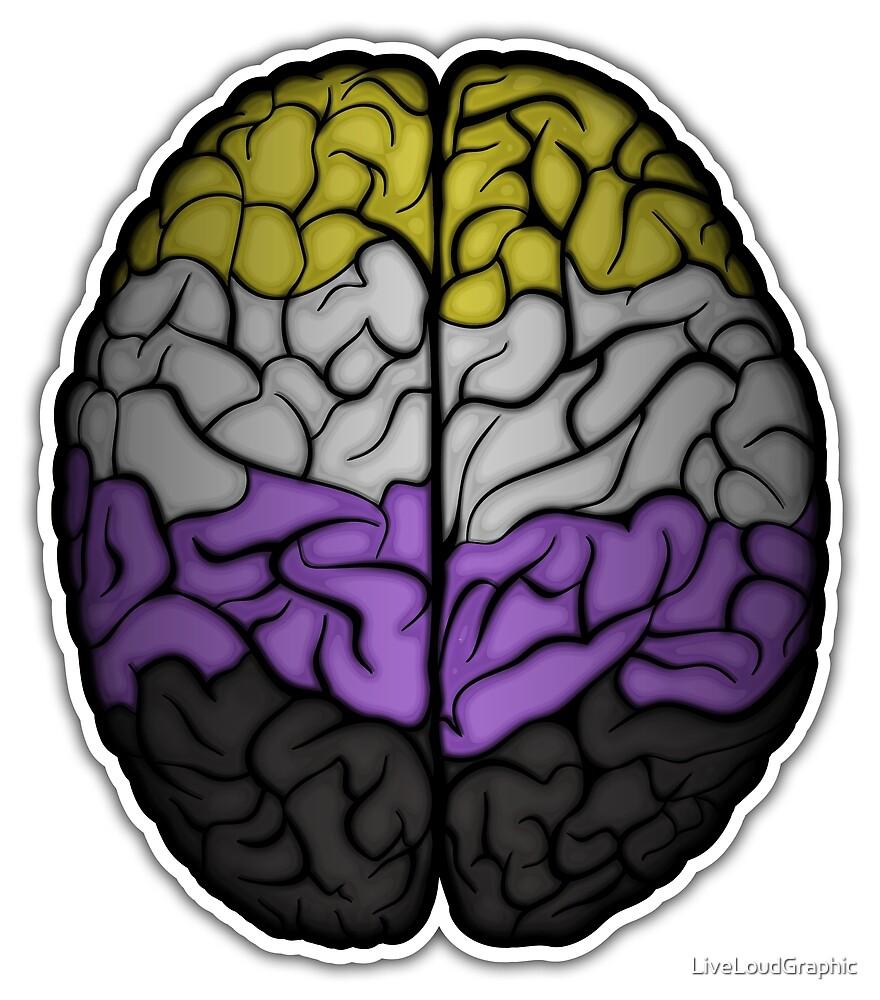 Non-Binary Brain by LiveLoudGraphic