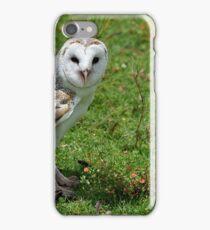 barm owl iPhone Case/Skin