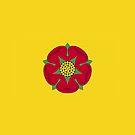 Lancashire Flag Phone Cases by mpodger