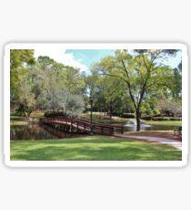 Scenic Pond Sticker
