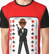 The Lucky Contestant TV Joker Is Wild Player Card2 Graphic T-Shirt
