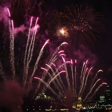 Thames Festival Finale by gauravcreations