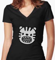 ferocious Women's Fitted V-Neck T-Shirt