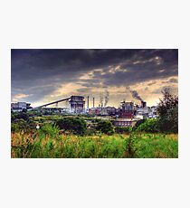Winnington Works from Anderton nature trail ( northwich) Photographic Print