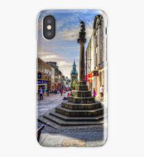 Dunfermline Mercat Cross iPhone Case/Skin