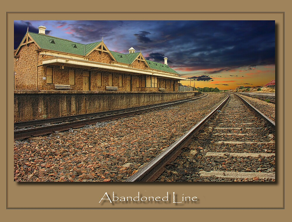 Abandoned LIne by Tony Rogers