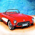 1956 Corvette Roadster by Stuart Row