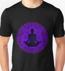 Meditation Inside a Lotus Flower Unisex T-Shirt
