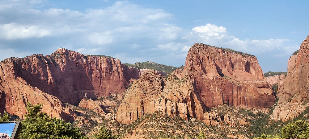 Kolob Canyons in Zion National Park by Jawaher