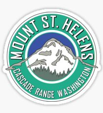 MOUNT SAINT HELENS WASHINGTON CASCADE RANGE ST Sticker