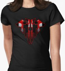 Wicked Geometric Skull Women's Fitted T-Shirt