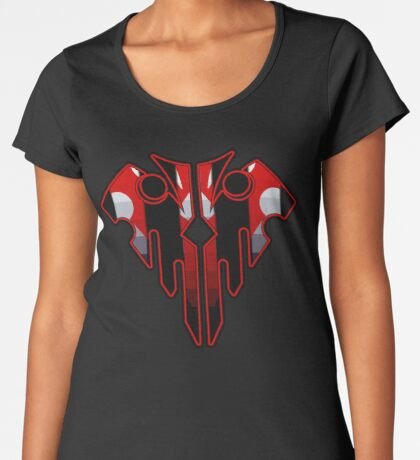 Wicked Geometric Skull Women's Premium T-Shirt