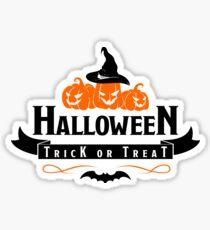Halloween Trick or Treat Sticker
